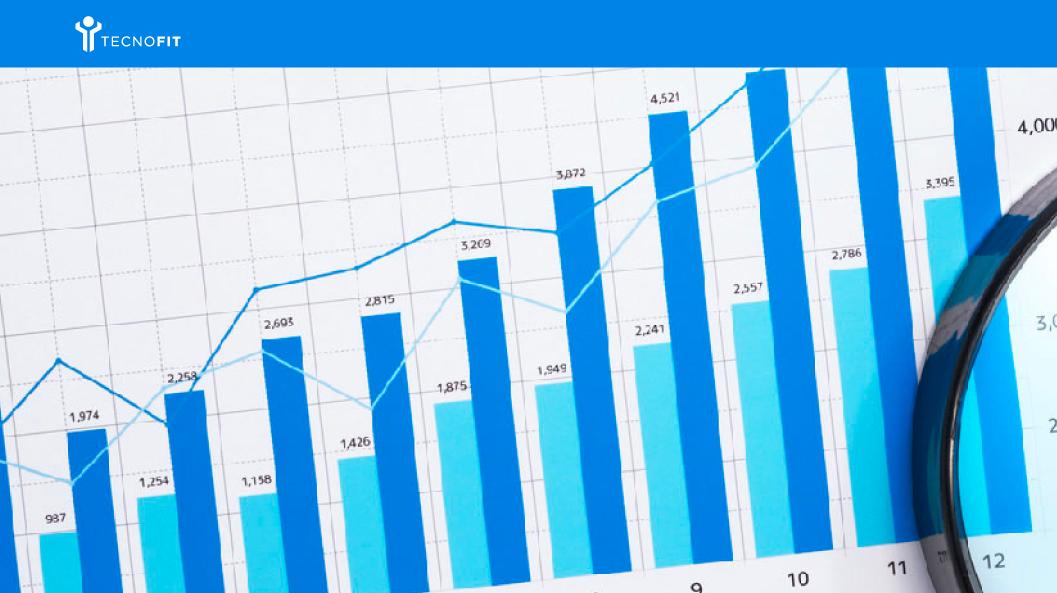 Imagem de Gráficos analisando metas numéricas